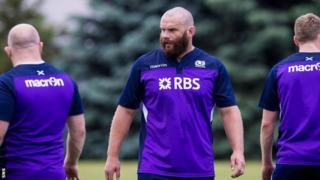 Scotland prop Geoff Cross