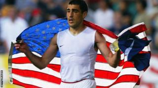 Former United States captain Claudio Reyna played in three World Cups