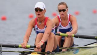 Heather Stanning (left) and Helen Glover
