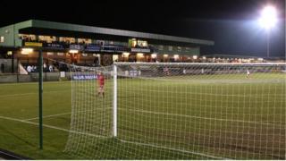 Salisbury City's Raymond McEnhill stadium