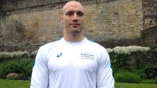Scottish judo player Matt Purssey