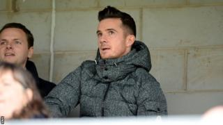 New Clyde manager Barry Ferguson