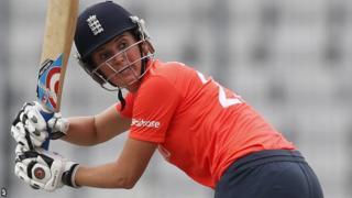 Charlotte Edwards of England