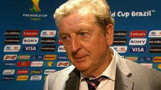 England manager Roy Hodgson on the defeat against Italy