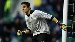 Goalkeeper Antonio Reguero