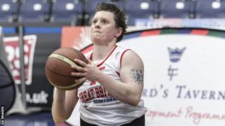 Great Britain Wheelchair Basketball athlete Fi Tillman