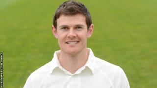Middlesex bowler James Harris