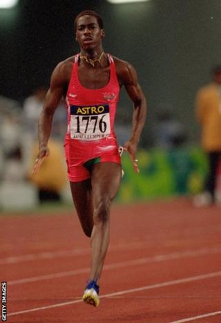 Kuala Lumpur 1998: Christian Malcolm competed in the first of his four Games, winning silver in the 200m.