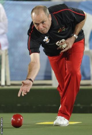 Delhi 2010: Robert Weale struck gold in the men's lawn bowls singles.