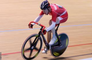 Melbourne 2006: Geraint Thomas' only Commonwealth medal to date was a bronze in the 40 km points race.