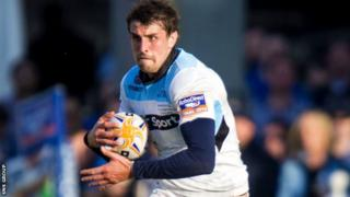 Peter Murchie played in the Pro12 final for Glasgow