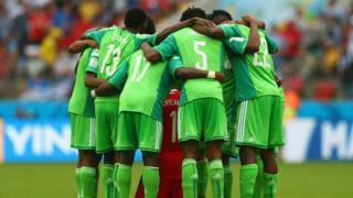 The Nigeria squad