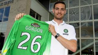 Craig Gordon signs for Celtic