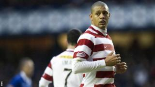 Mickael Antoine Curier has signed a new deal with Hamilton Accies