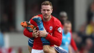 Liam Lawrence made 14 appearances for Barnsley following his deadline move in January 2014