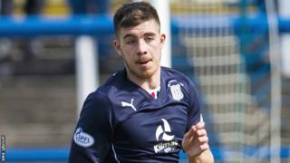 Declan Gallagher played 40 games for promoted Dundee last season