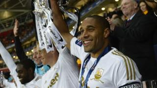 Garry Monk and Ashley Williams