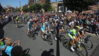 The 2014 Tour de France gets underway in Leeds