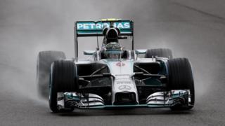 British Grand Prix: Highlights of frantic qualifying session
