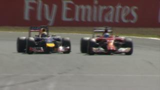 Red Bull's Sebastian Vettel and Ferrari's Fernando Alonso