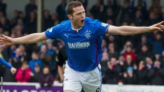 Jon Daly was Rangers' leading scorer last season.