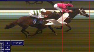 Photo finish at Brighton