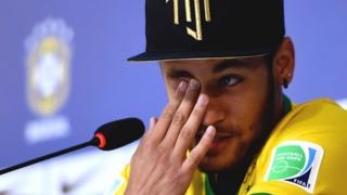 Brazil star Neymar says he could have been paralysed