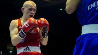 Joe Ham is aiming for boxing gold at the Commonwealth Games
