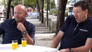 Alan Shearer and Chris Waddle debate their team of the tournament