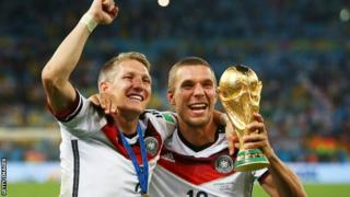 Germany beat Argentina on Sunday to win their fourth World Cup