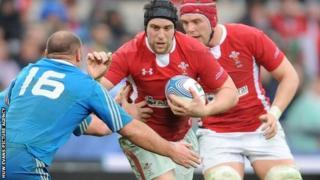 Wales' Ryan Jones