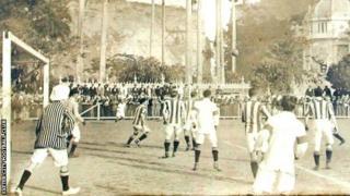 Exeter City v Brazil 1914