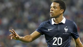 France striker Loic Remy