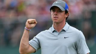 McIlroy's round in 60 seconds