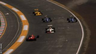 Mexican GP, 1989