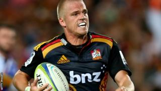 New Cardiff Blues signing Gareth Anscombe qualifies for Wales through his mother