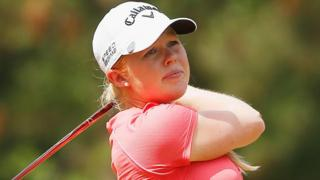 Stephanie Meadow has just turned pro but has her sights on a major title