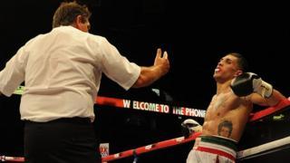 Emanuele Blandamura loses to Billy Joe Saunders