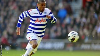 QPR striker Loic Remy