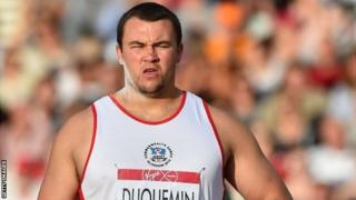 Jersey's Duquemin came ninth in the shot put and is the British discus champion
