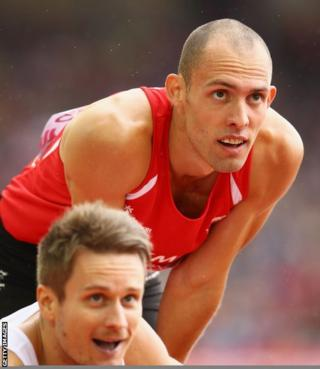 Dai Greene failed to defend his Commonwealth Games 400m hurdles crown, finishing fifth in his semi-final.