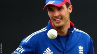 England bowler Steve Finn