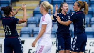 Scotland next play a World Cup qualifier against the Faroe Islands on 13 September