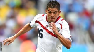 Costa Rica international Cristian Gamboa