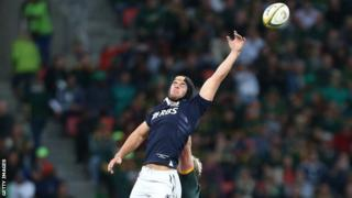 Scotland number eight Adam Ashe