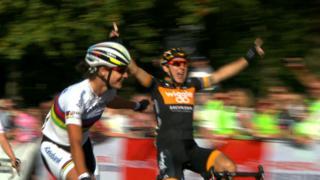 Giorgia Bronzini sprints to RideLondon Grand Prix victory