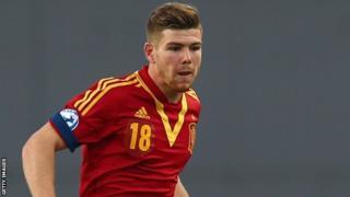 Sevilla and Spain left-back Alberto Moreno