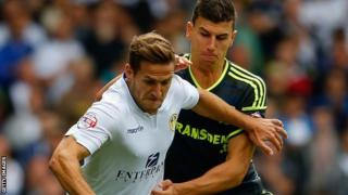 Leeds striker Billy Sharp