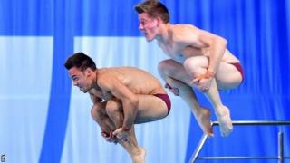 Tom Daley and James Denny