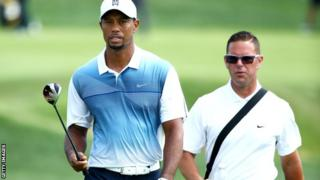 Tiger Woods has worked with coach Sean Fley (left) since 2010